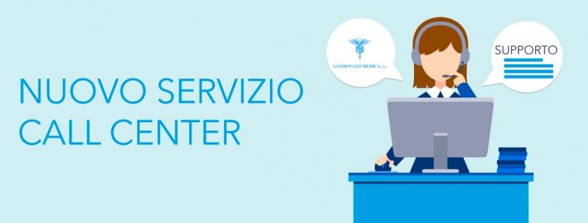Servizio call center Sandonato Medica