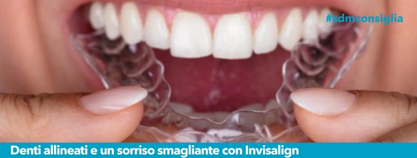 Denti allineati Invisalign Sandonato Medica